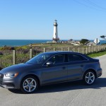 Audi A3 With Lighthouse