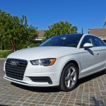 Audi A3 front three quarter view
