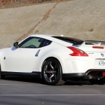 Nissan 370Z Nismo left rear three quarter view