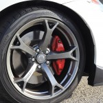 Nissan 370Z Nismo right front wheel