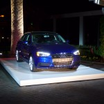 Audi A3 Sedan night display