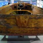 bugatti design wooden boat