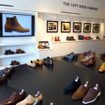 the left shoe company retail store on melrose in los angeles california