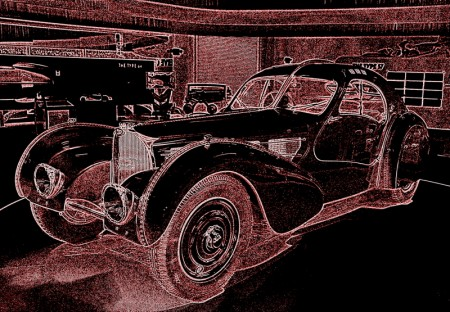 Magnificant bugatti type 57sc atlantic