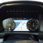large format navigation map is incorporated in the gauge cluster on the volvo xc90