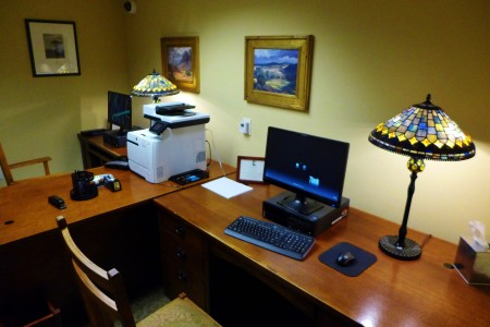 Business Area at the Lodge at Torrey Pines
