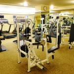 Gym at the Lodge at Torrey Pines
