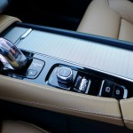 sophisticated center console of the volvo xc90