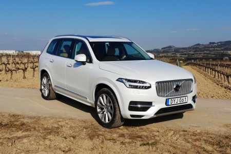 The 2016 Volvo XC90 in Catalonia, Spain