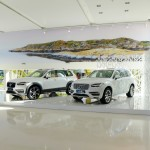 Le Meridien Ra Beach Hotel & Spa lobby with Volvo XC90s
