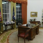 Step inside a full-size replica of the Oval Office