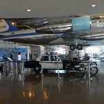 A look inside the exhibit on presidential motorcades