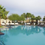 Take a dip in the pool at The Ritz-Carlton, Rancho Mirage desert oasis