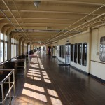 Walk the decks of the historic ship, The Queen Mary