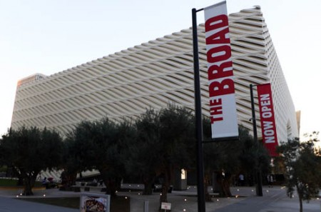 The Broad features a bold modern design by Diller Scofidio + Renfro