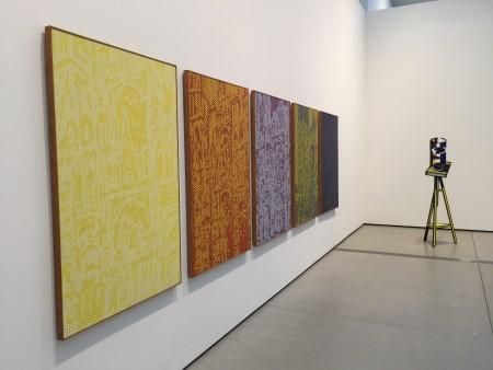 Lichtenstein was inspired by Claude Monet's renderings of Rouen Cathedral