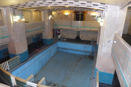 The Queen Mary's swimming pool is one of the areas of the ship said to be haunted