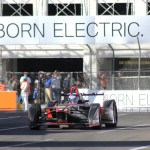 Venturi VM200-FE-01 car # at 2016 Long Beach ePrix